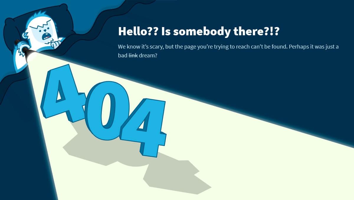 Page Erreur 404 votre site web et Google URL PAGE ERROR 404
