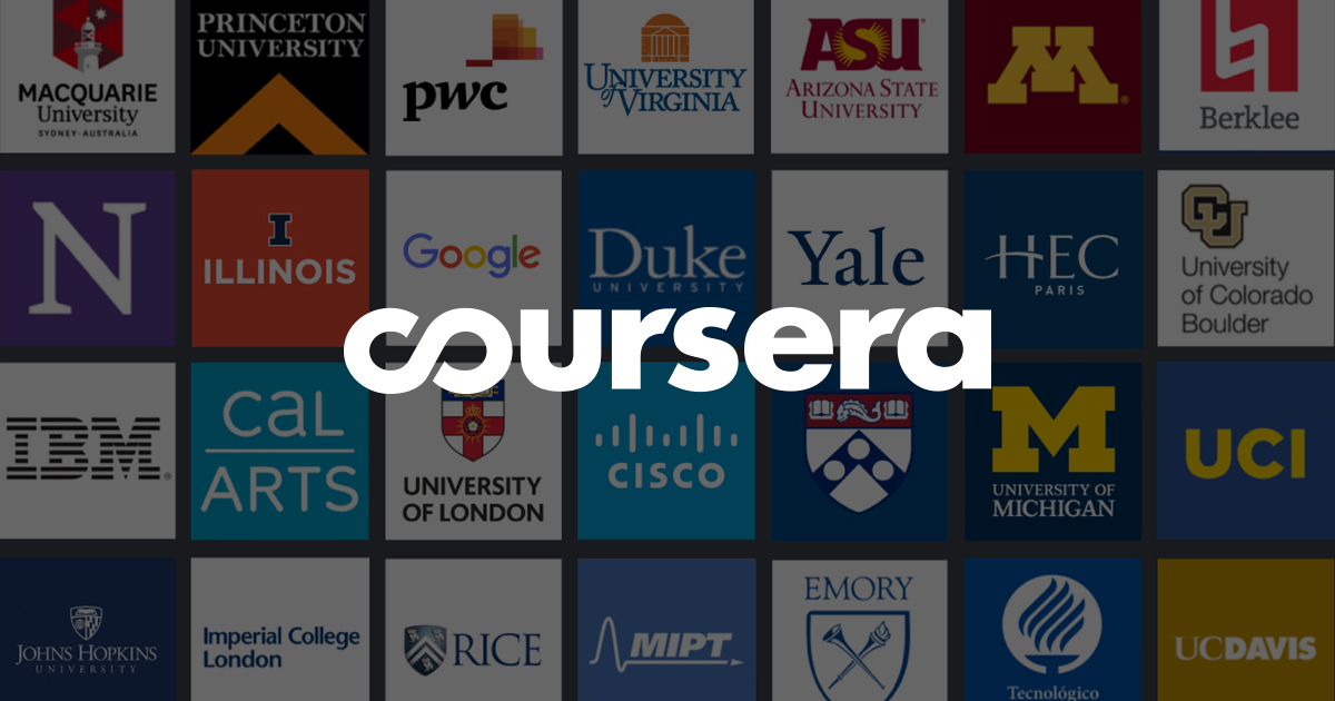 COURSERA 12 Websites You Should Check Out to Learn Web Development Fast
