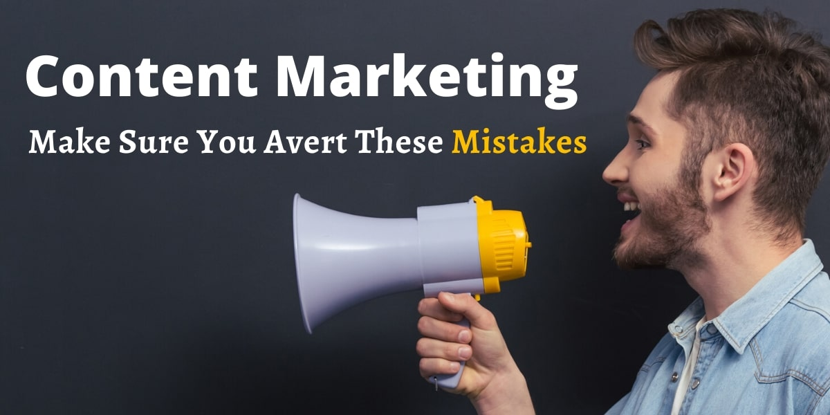 SEO MONTREAL - Content Marketing | Make Sure You Avert These Mistakes